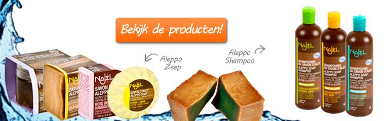aleppo zeep producten